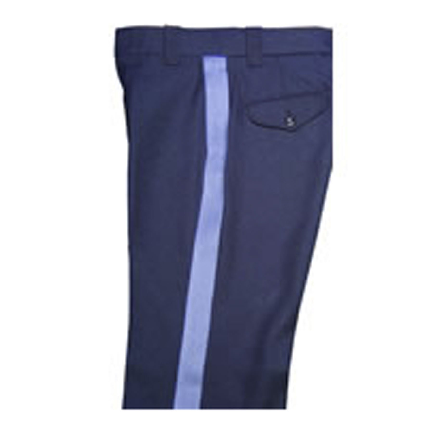 "Elbeco Cargo Pant with 1.5"" French Blue Stripe"