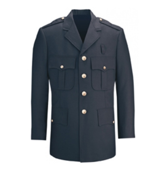 FLYING CROSS SINGLE BREASTED DRESS COAT W/GLD FD BUTTONS