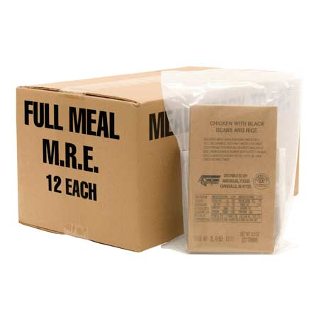 5IVE Star Gear Commercial Meals Ready to Eat (MRE)