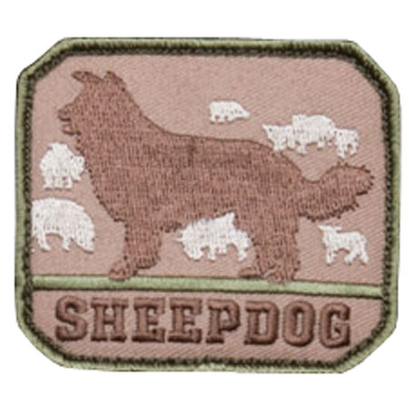 Mil-Spec Monkey Sheepdog Patch