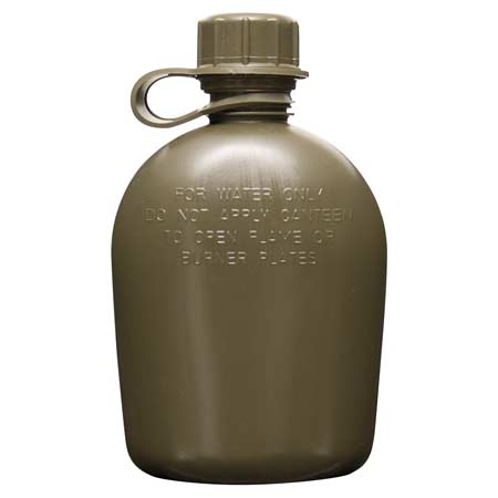 BasicGear 1-Quart Collapsible Canteen