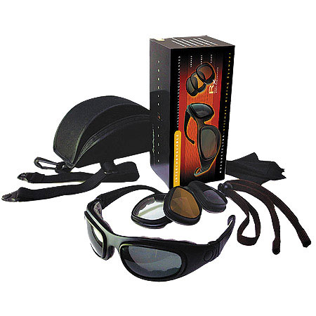ZAN HEADGEAR Bobster Sport & Street 2 Goggle/Sunglasses