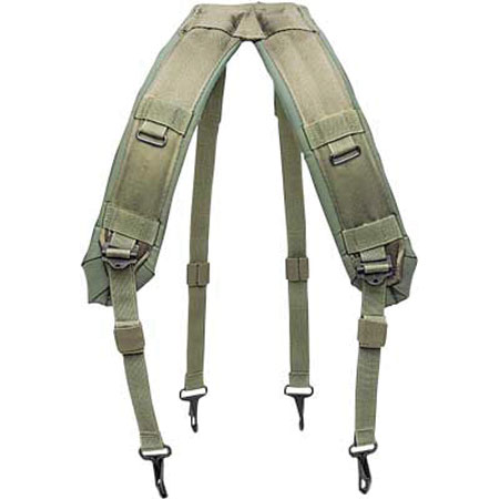 Rothco G.I. Style H Type Nylon LC-1 Suspenders