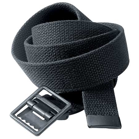 BasicApparel Web Belt w/Tip & Open Face Buckle