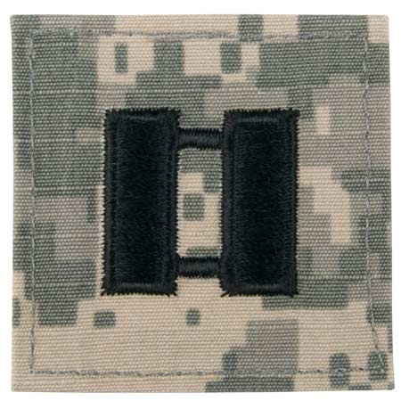 "BasicGear ACU Sew-On Rank (2"" x 2"")"
