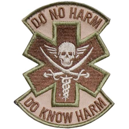 Mil-Spec Monkey Do No Harm Pirate Patch