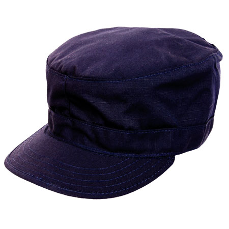 BasicApparel BDU Cap w/Map Pocket - Navy Blue