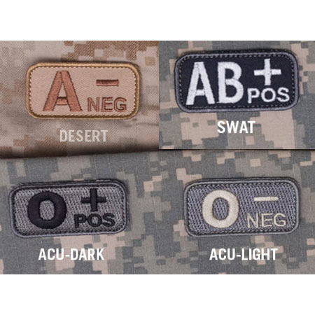BasicGear A+ Blood Type Patch