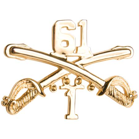 CARBONE ENTERPRISES BasicApparel Cavalry Hat Pin 7/17