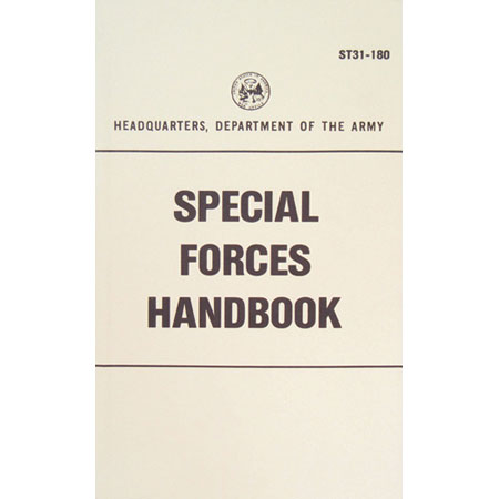 Fox Tactical U.S. Government Manual Survival, Evasion