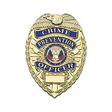 LawPro Crime Prevention Officer 'Lite' Badge