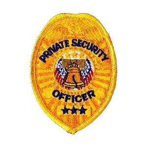 LawPro Private Security Officer Shield