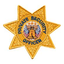 LawPro Private Security Officer 7 Point Star