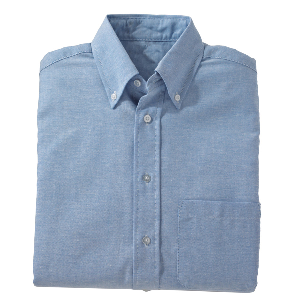 Edwards men 39 s short sleeve button down oxford shirt for Mens short sleeve oxford shirt
