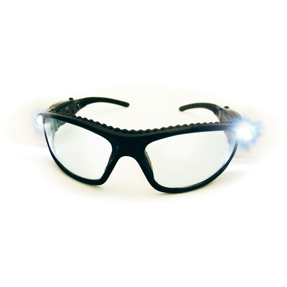 SAS Safety LED Inspectors Glasses