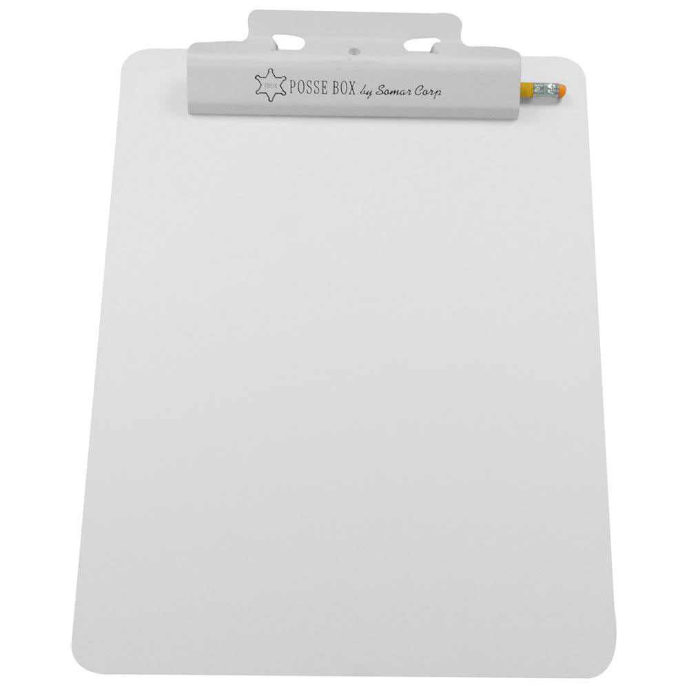 "Posse Box Flat Clipboard, 9 1/2"" x 12 1/2"""