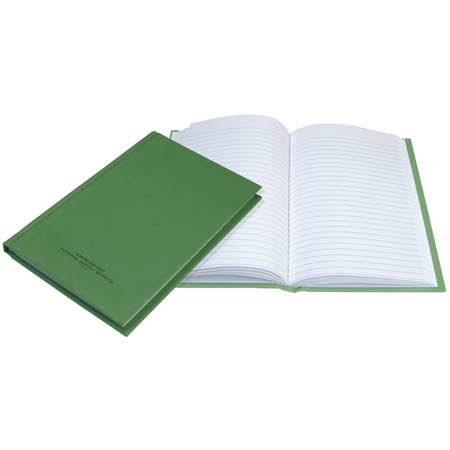 "BasicGear Green Record Book 10.5"" x 8"""