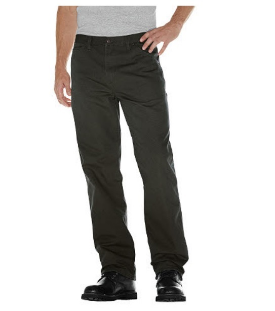 Dickies Men's Relaxed Fit Rinsed Utility Jeans
