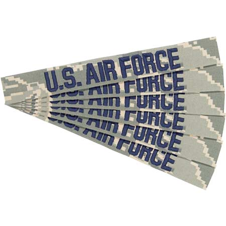 U.S. Cavalry Air Force ABU Branch Tapes (Set of 6)