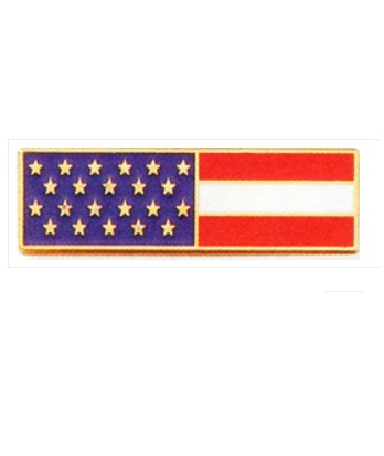 Blackinton A7140J AMERICAN FLAG COMMENDATION BAR